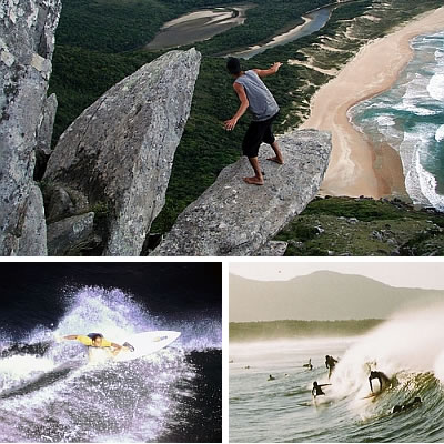 Florianópolis surfing