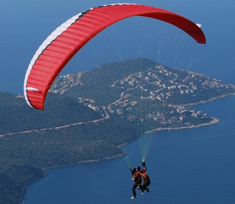 paragliding Turkey