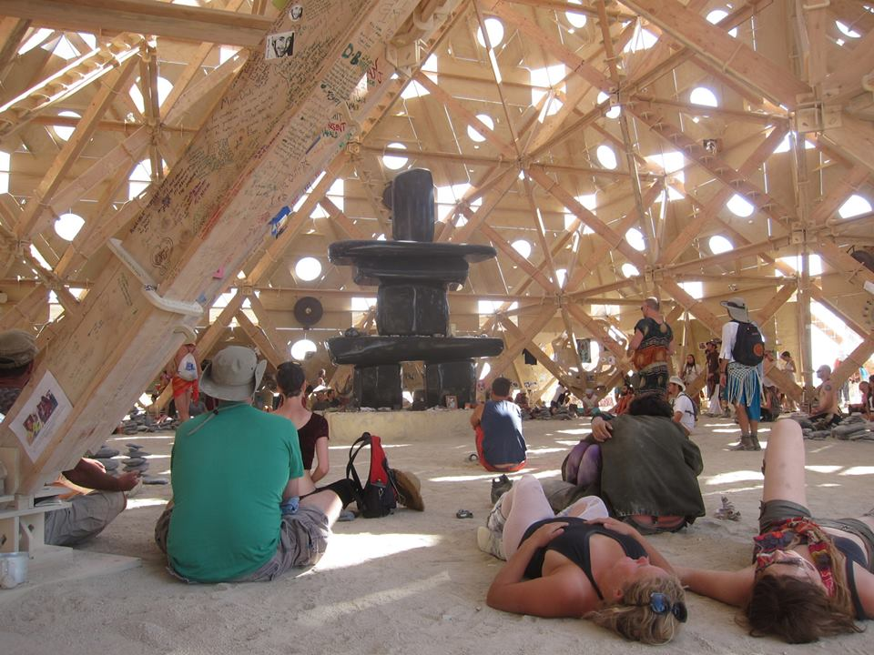 Inside the temple. Quite. Peaceful. Restorative